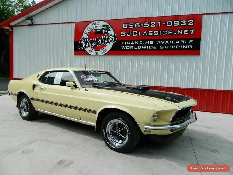 1969 Ford Mustang Mach 1 Ford Mustang Forsale Usa Ford