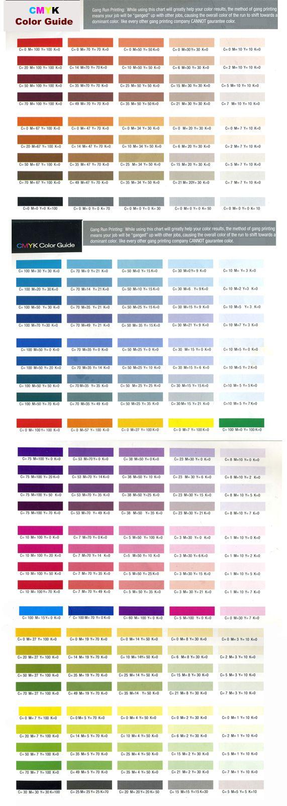 Pin by Cristu Jo on Design | Pantone color chart, Cmyk color