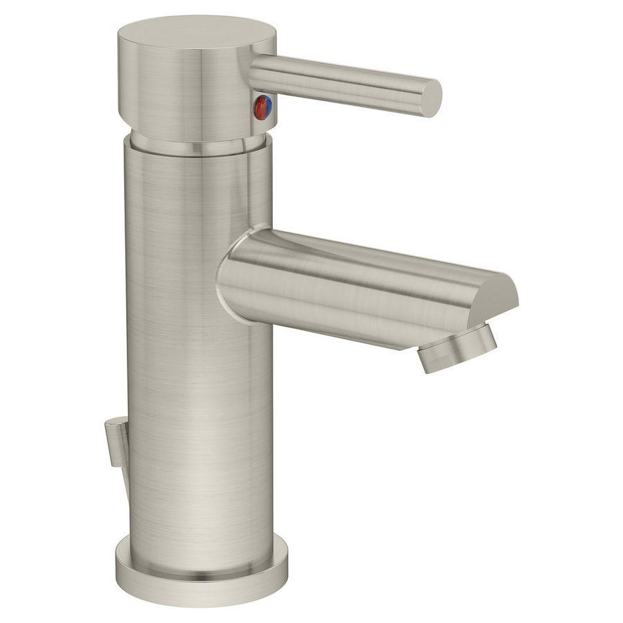 Symmons Dia Satin Nickel 1-handle Single Hole Watersense Bathroom ... Single Badezimmer