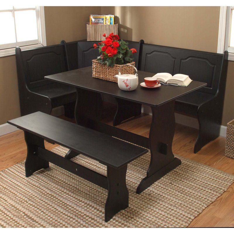 Target Dining Room Furniture: Target Marketing Systems 3 Piece Breakfast Nook Dining Set