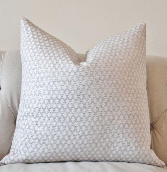 silver pillows diamond pillow cover