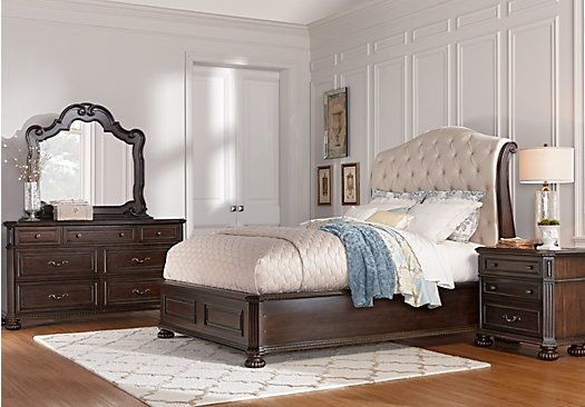 Shop for a Daventry 7 Pc Queen Sleigh Bedroom at Rooms To Go. Find ...