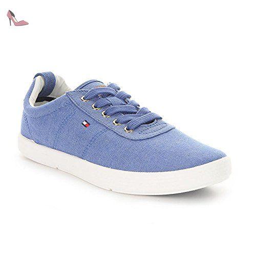 H2285Arrington 8A, Baskets Basses Homme, Bleu (Midnight), 44 EUTommy Hilfiger