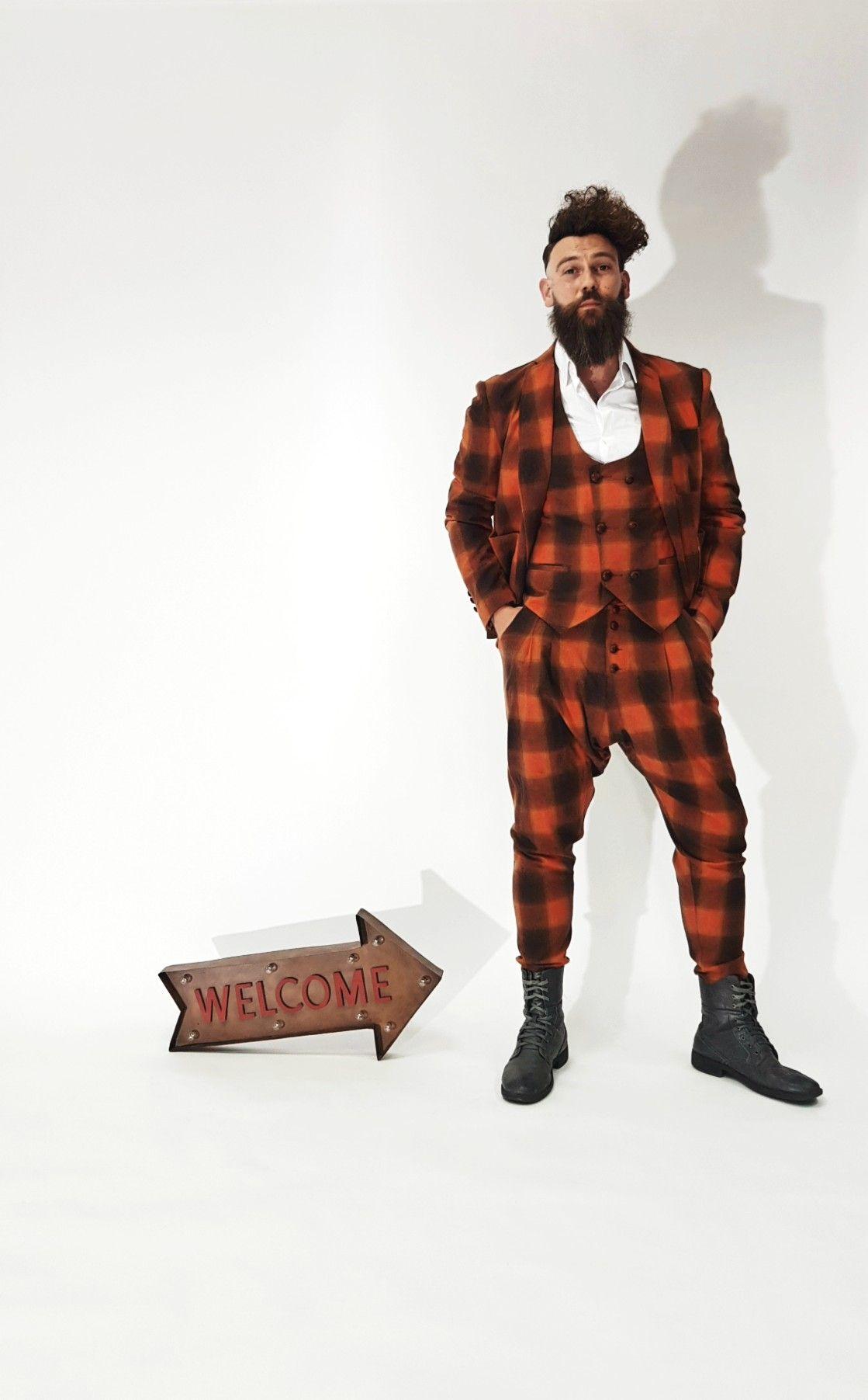 bc0e54990456 Barber clothing,kirios,artist, suit | KIRIOS | Barber clothing, Mens ...
