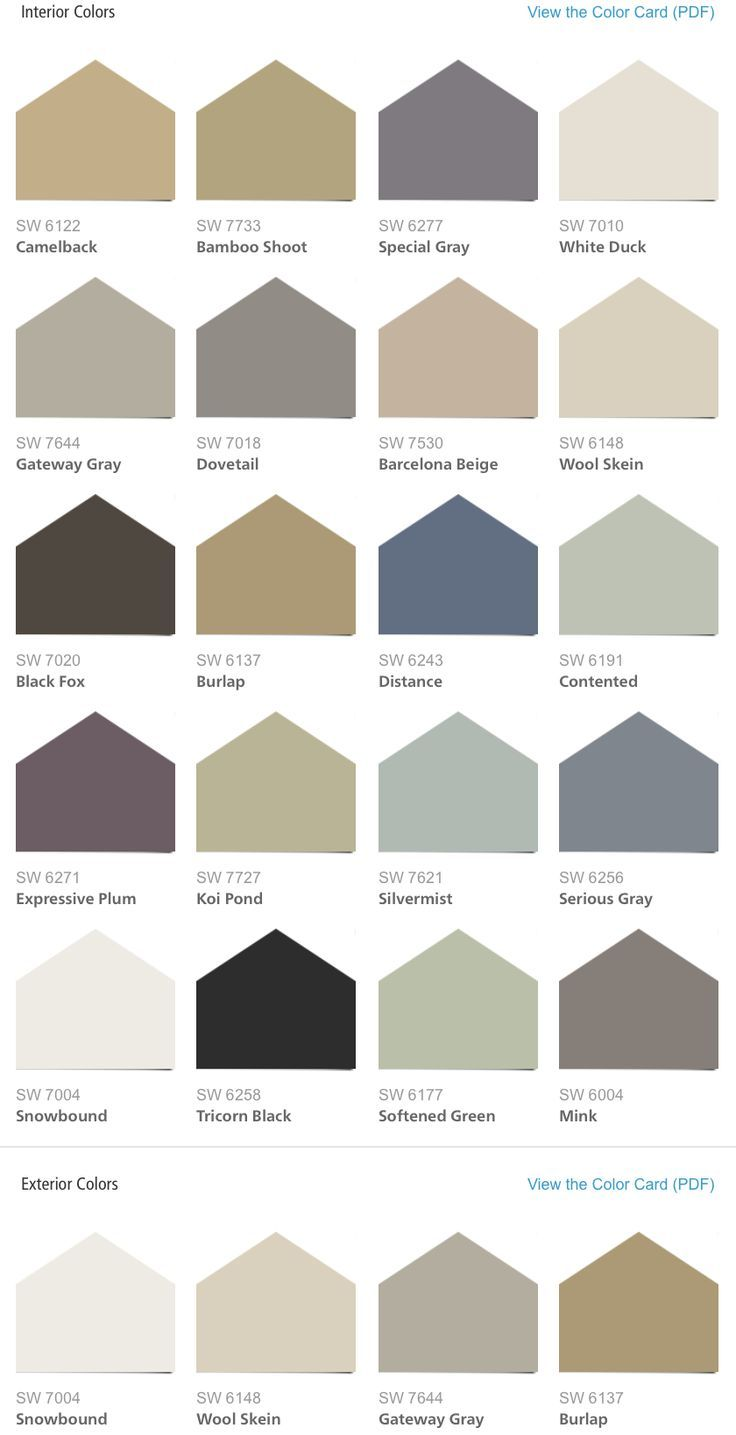 Sherwin williams hgtv home liveable luxe color palette - Sherwin williams exterior paint colors chart ...