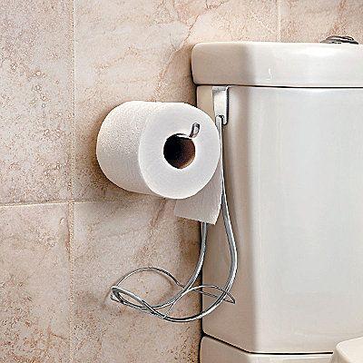 Over Tank Toilet Paper Holder Bathroom Decor Pinterest Toilet