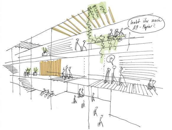 Att Architekten projekte öffentlich att schule querkraft architekten