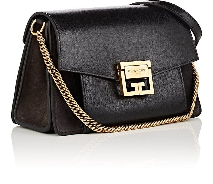 ada987c2b675e GV3 Small Leather & Suede Shoulder Bag by Givenchy in 2019 ...