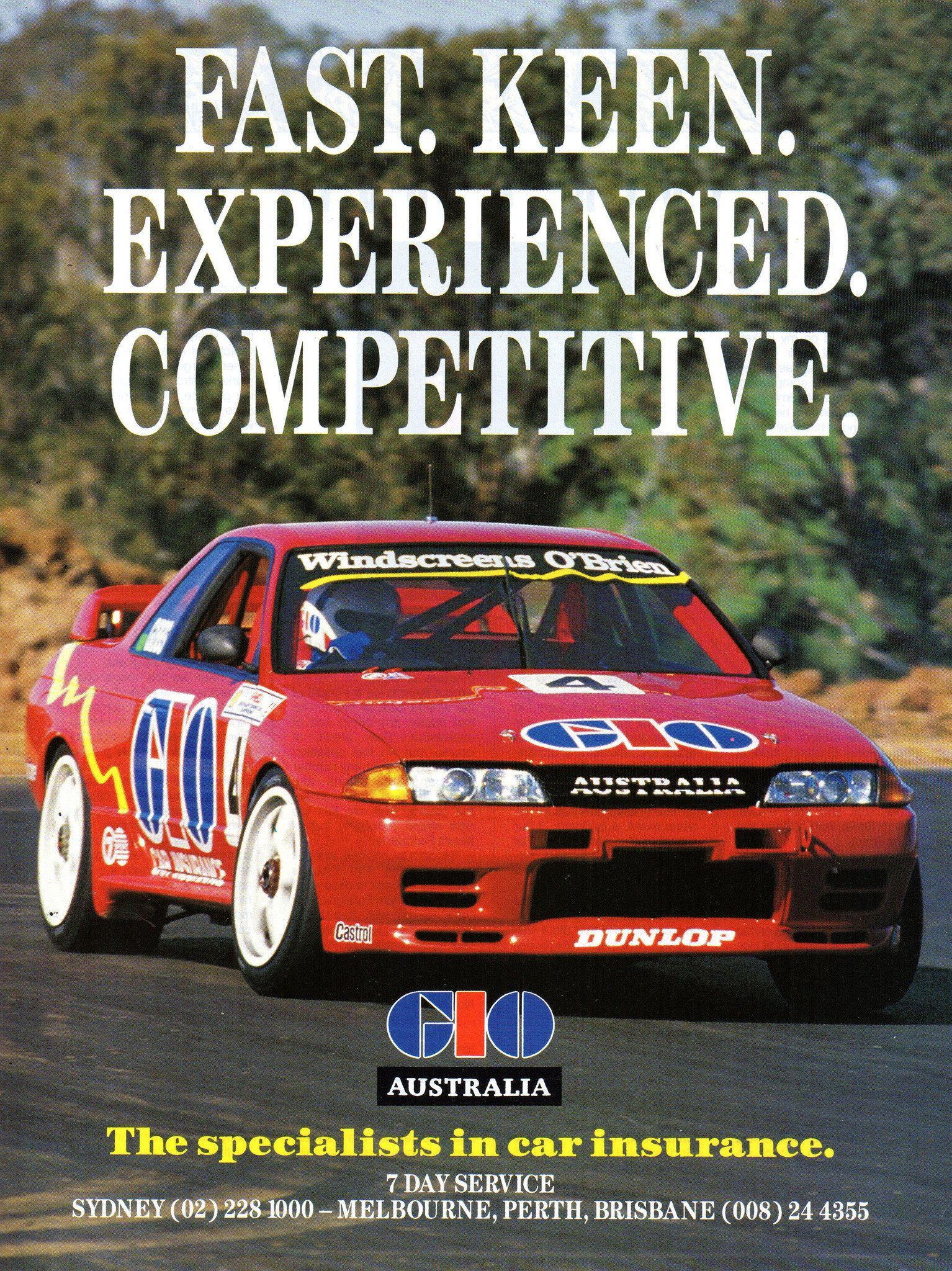 1992 Gio Australia Car Insurance Nissan Gt R R32 Fred Gibbs