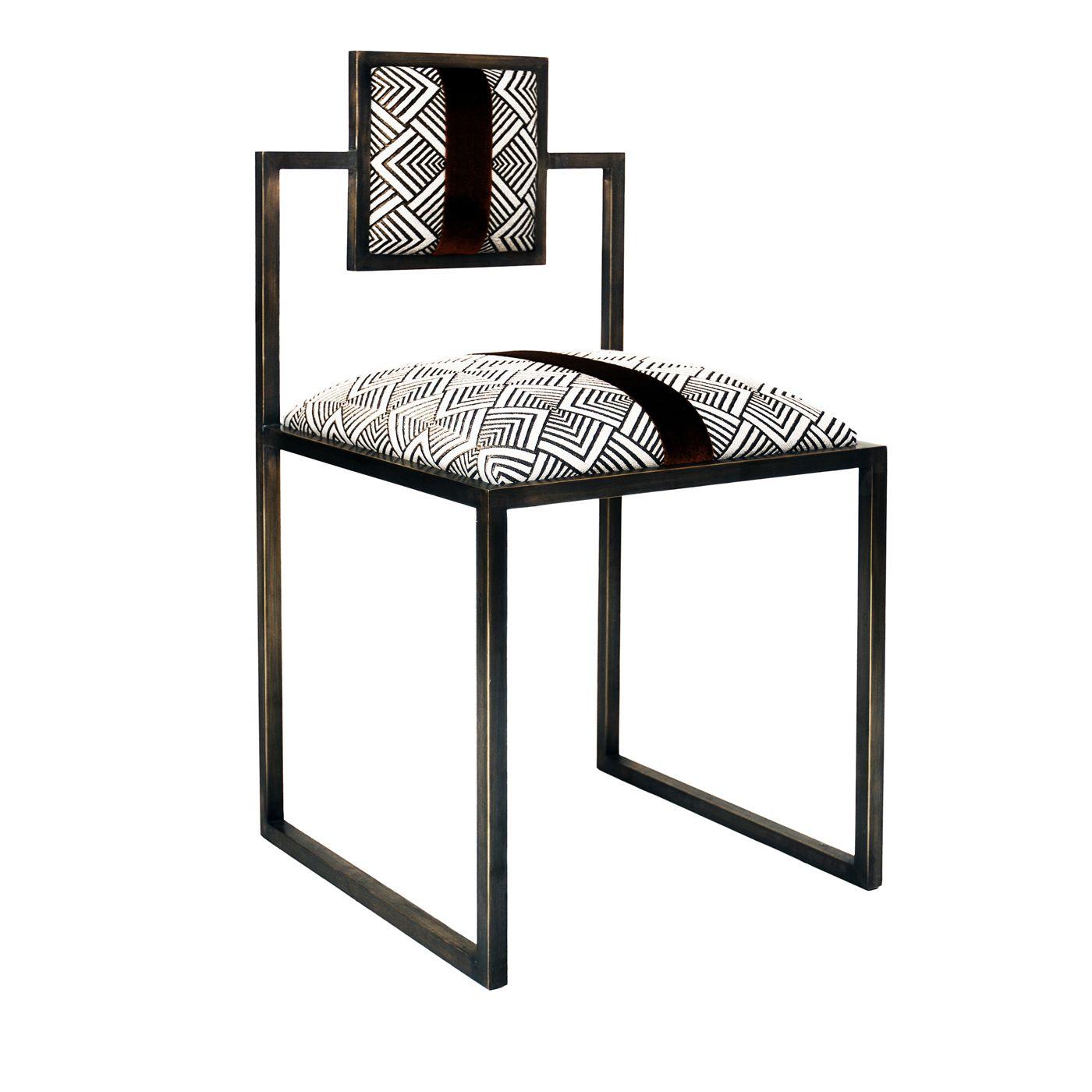 Grigio and Bronze Square Chair  Furniture, Restoration hardware