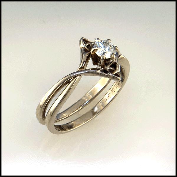 Interlocking Wedding Rings.Pinterest
