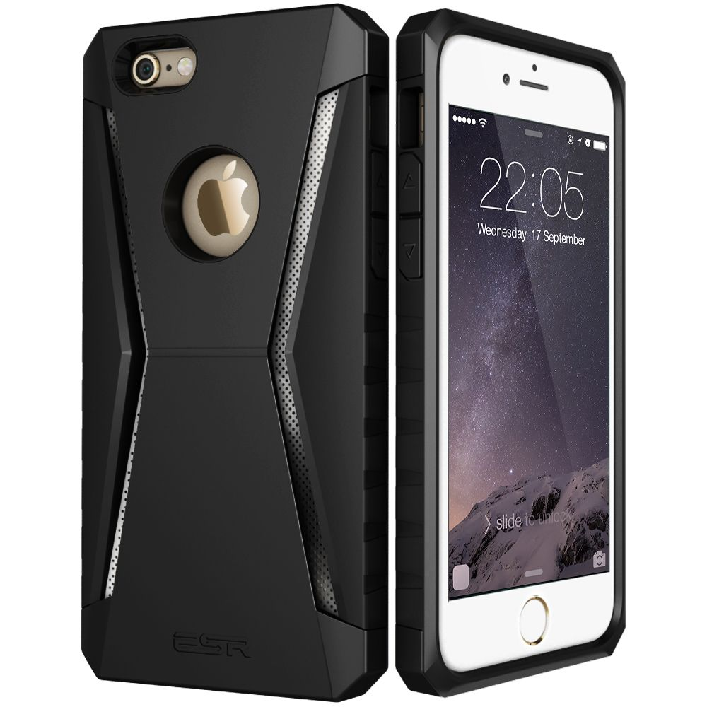 brand new 0f552 4655f Case for iPhone 6 6 Plus, ESR Defender Armor Tri-Layer soft TPU ...