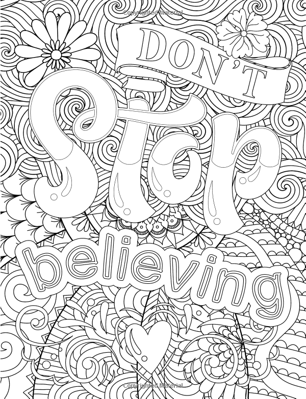 Amazon Adult Coloring Books Good Vibes Dont Give Up