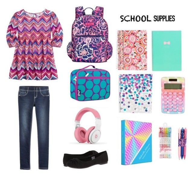 """""""School"""" by ava2005 ❤ liked on Polyvore featuring Rocket Dog, Vera Bradley, Forever 21, Avery and Wildkin"""