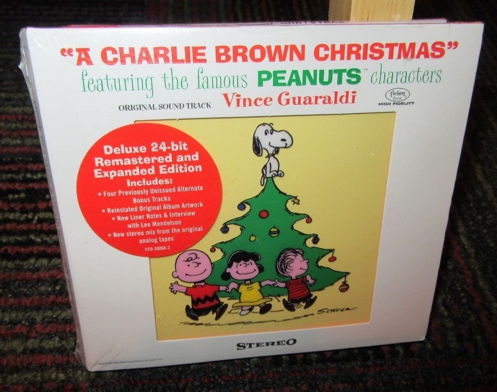 A Charlie Brown Christmas Soundtrack.Vince Guaraldi A Charlie Brown Christmas Original