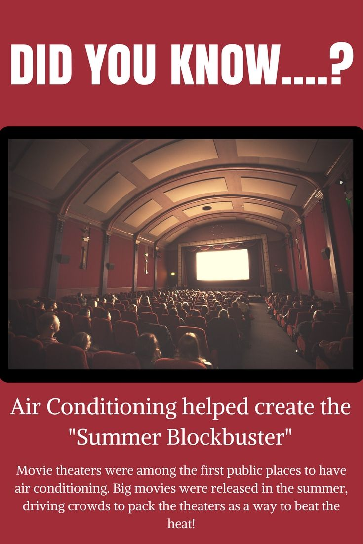 Did You Know That Air Conditioning Helped Create The Term Summer