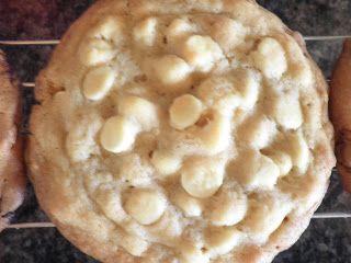 Giant Triple White Chocolate Double Vanilla Pudding Cookies