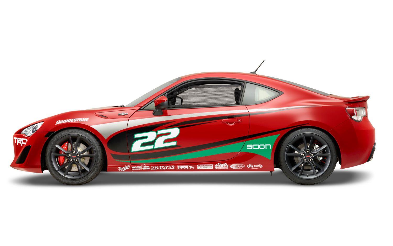 Lights Camera Racing We Drive The Toyota Pro Celebrity Scion Fr S Racing Scion Toyota