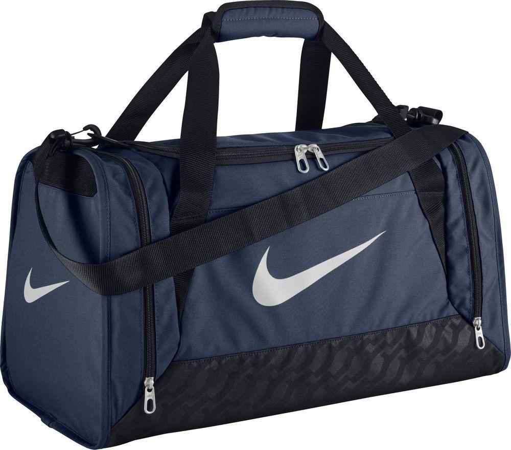 Mentalmente Diploma temerario  Nike Brasilia 6 Duffel Bag Midnight Navy/Black/White Medium New #Nike | Nike  gym bag, Nike duffle bag, Small duffle bag