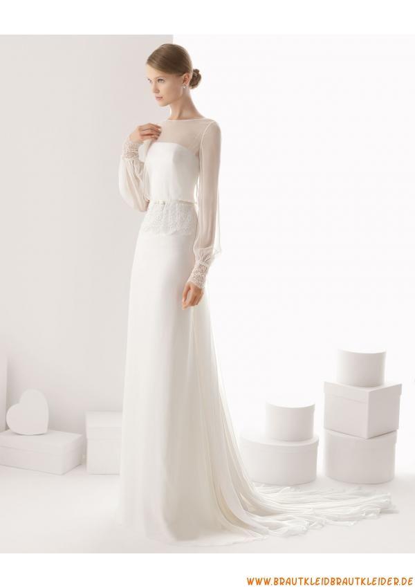 schlicht Schönes Brautkleid 2013 mit Lang-ARMEL | Wedding ...