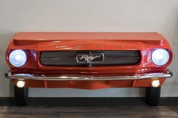 1965 Mustang Console Table Mustang Car Furniture Auto Body Shop
