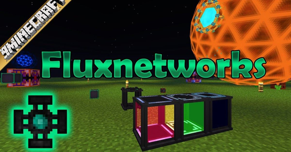 Flux Networks Mod 1.12.2/1.11.2 gives you the ability to