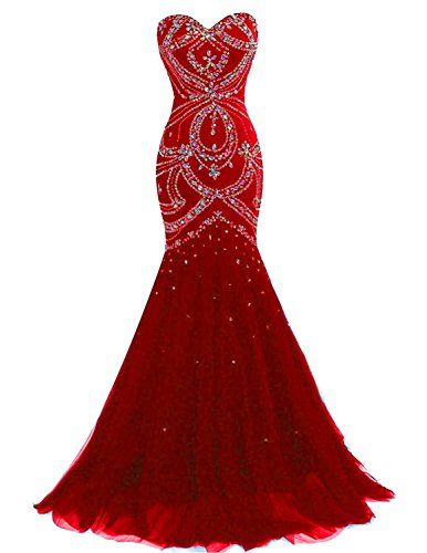 2d37260ff9 Chic Fashionbride Women s Prom Dresses Long 2018 Crystals Lace-up Mermaid  Formal Evening Dresses F032 online.   144.9  allfashiondress from top store