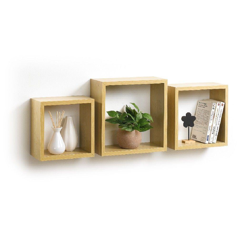 Salon Pas Cher Gifi Etageres Murales Cube Rangement Etagere Cube