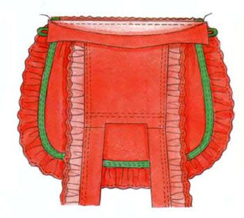 Как сшить фартук  \ How to sew an apron