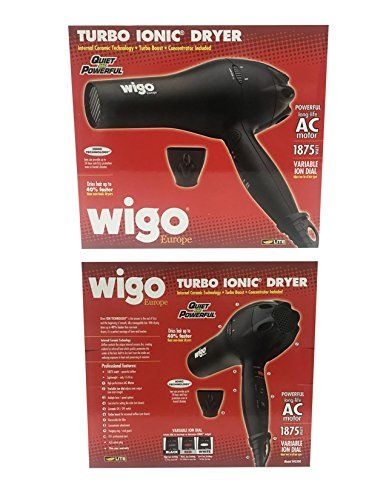 Hair Straightener Wigo Europe Turbo Ionic 1875 Watt Dryer W Variable Ion Dial Be Sure To Check Out This Awesome Product It Is An Affiliate Link