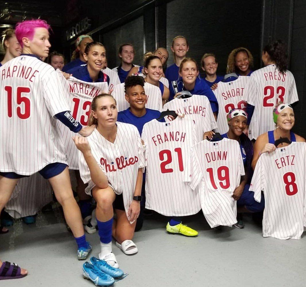 USWNT Philadelphia (August 28, 2019) Usa soccer women