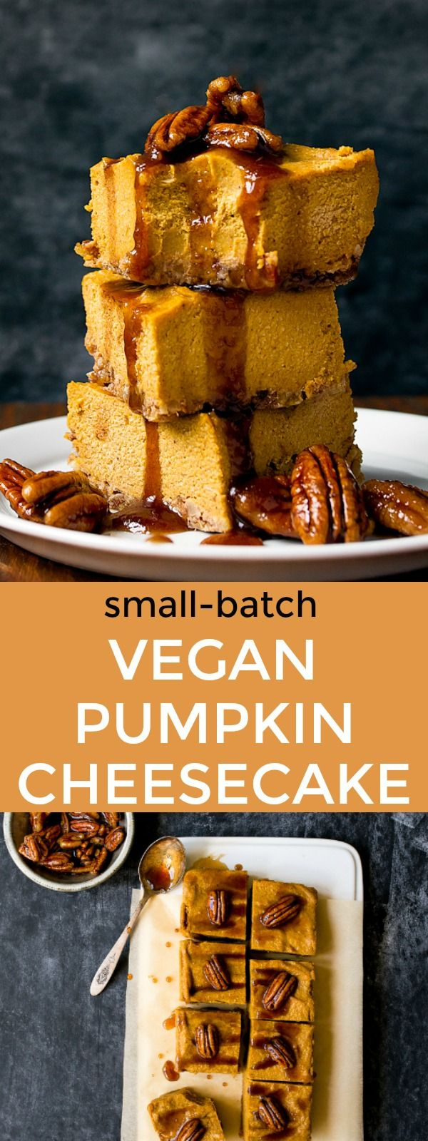 Vegan Pumpkin Pie Cheesecake Bars No Bake Almost Raw And Uses Cashews Cashew Cream Is A Win For Smal Pumpkin Cheesecake Bars Vegan Pumpkin Diy Easy Recipes