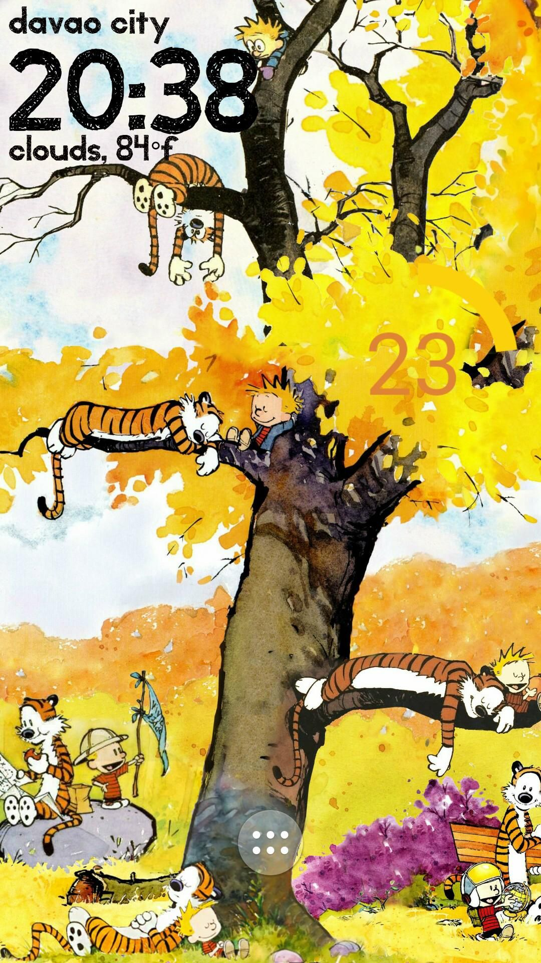 Calvin And Hobbes Tree Calvin And Hobbes Wallpaper Calvin And Hobbes Comics Calvin And Hobbes