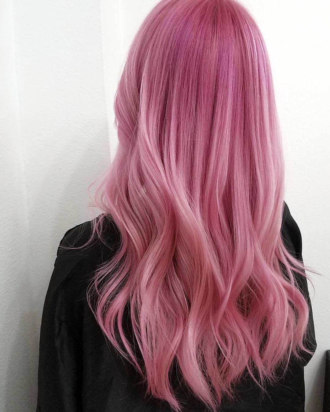 Pin On Pink Peach Hair