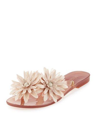 b3753c280 X364H Melissa Shoes Harmonic Garden III Thong Sandal