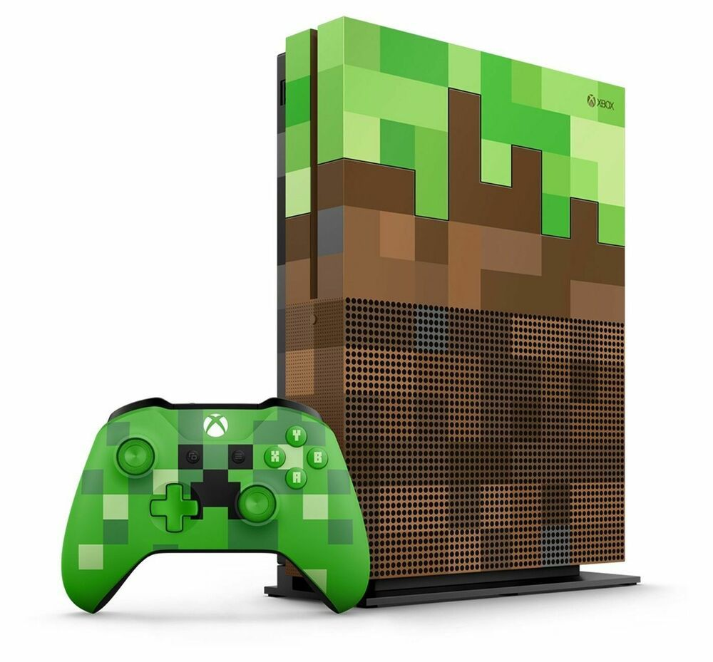 Microsoft Xbox One S Minecraft Limited Edition Bundle 1TB