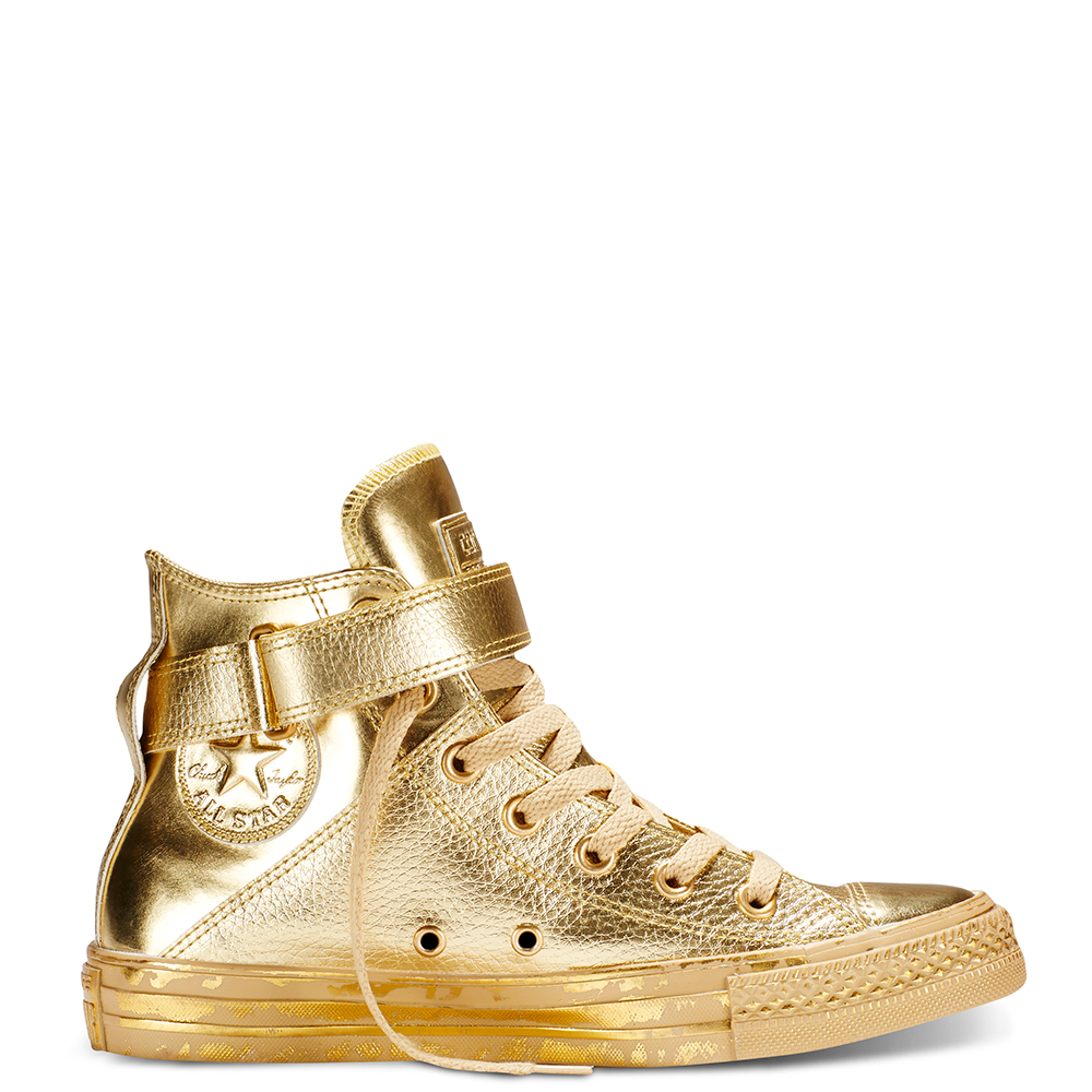 Chuck Taylor All Star Brea Metallic Golden HazeGoldGold