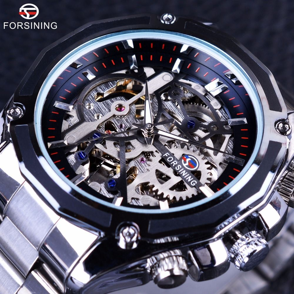 product steel gold stainless black skeleton arriivals watches winner watch store men wristwatch lowest leather sliver hollow price mechanical new women