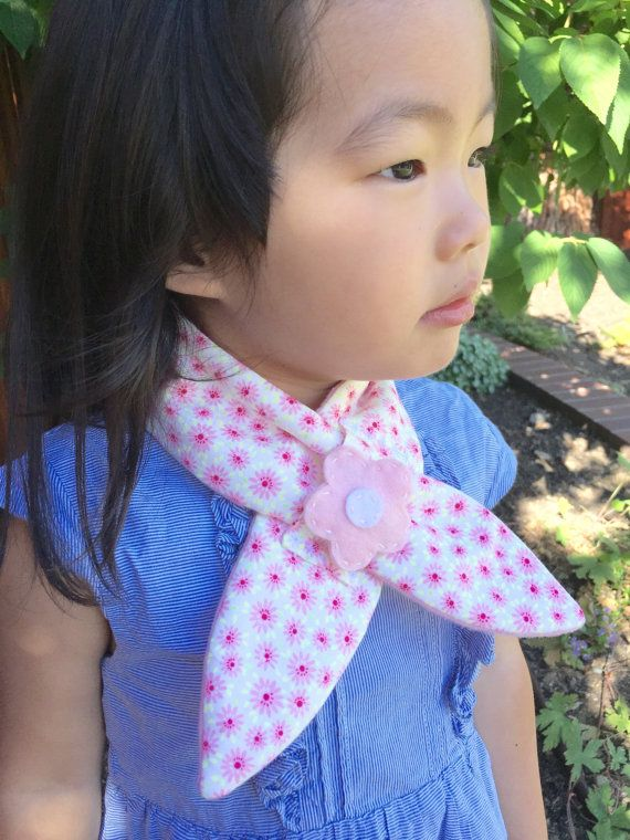 Baby Girl Scarf Pink Baby Shower Gift Baby Girl by happybobbins
