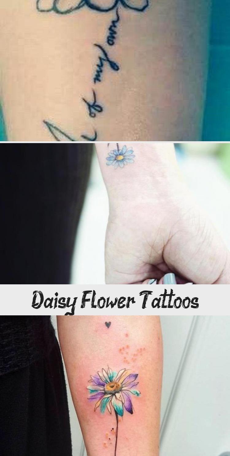 Daisy Flower Tattoo Signification et dessins DaisyFlower   Signification et conceptions de tatouage de fleur de marguerite