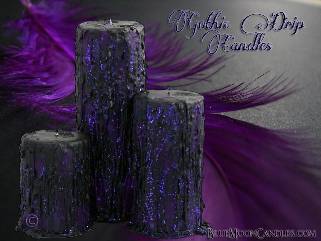 anything purple | Gothic Drip Pillar Sizes