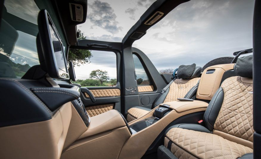 View 2018 Mercedes Maybach G650 Landaulet Photos From Car And