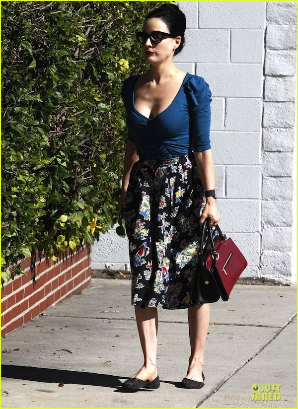 9bc73f9d98 Dita Von Teese Midi Skirt  needs a modest top though