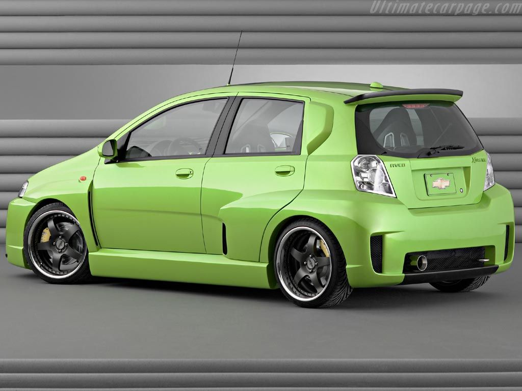 Chevrolet Aveo Xtreme High Resolution Image 2 Of 4 In 2020