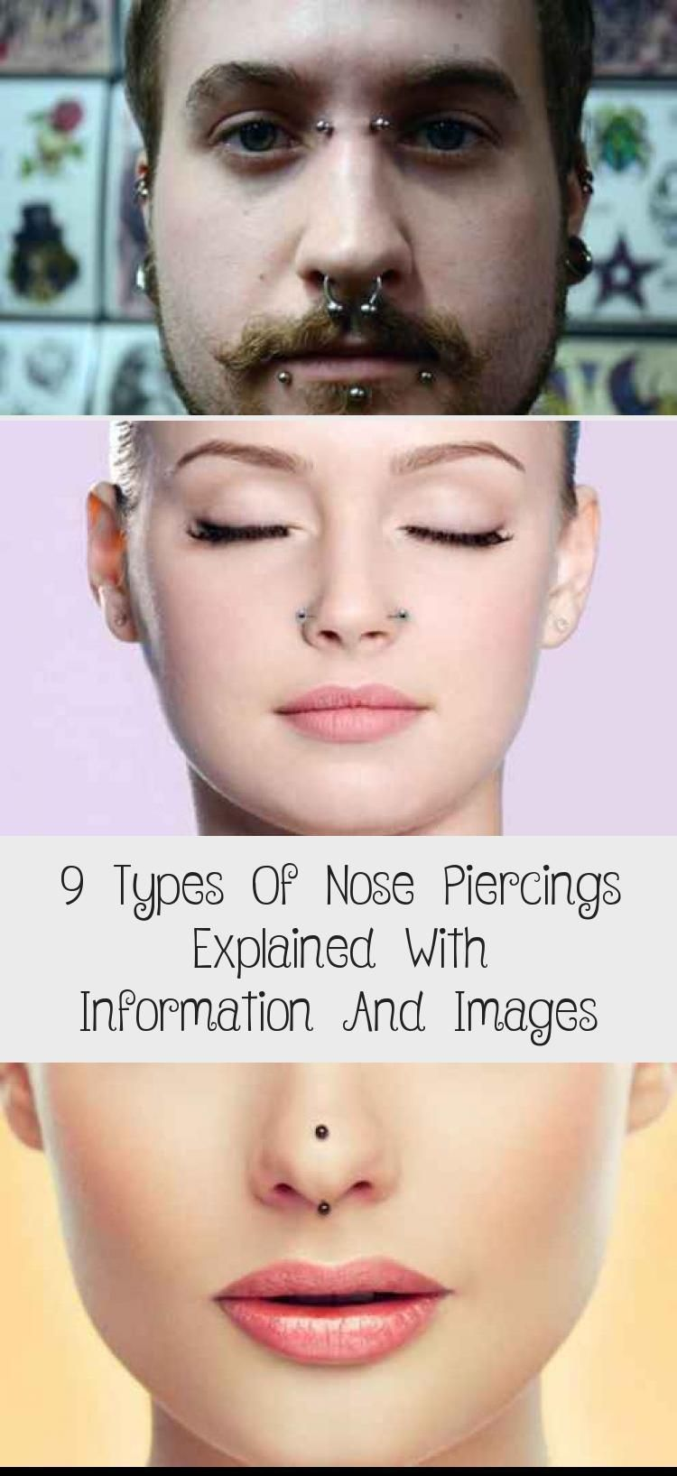 9 Types Of Nose Piercings Explained With Information And Images - PIERCINGS - D..., #cuteno... #doublenosepiercing 9 Types Of Nose Piercings Explained With Information And Images - PIERCINGS - D..., #cutenoisepiercing #Explained #Images #Information #Nose #Piercings #TYPES