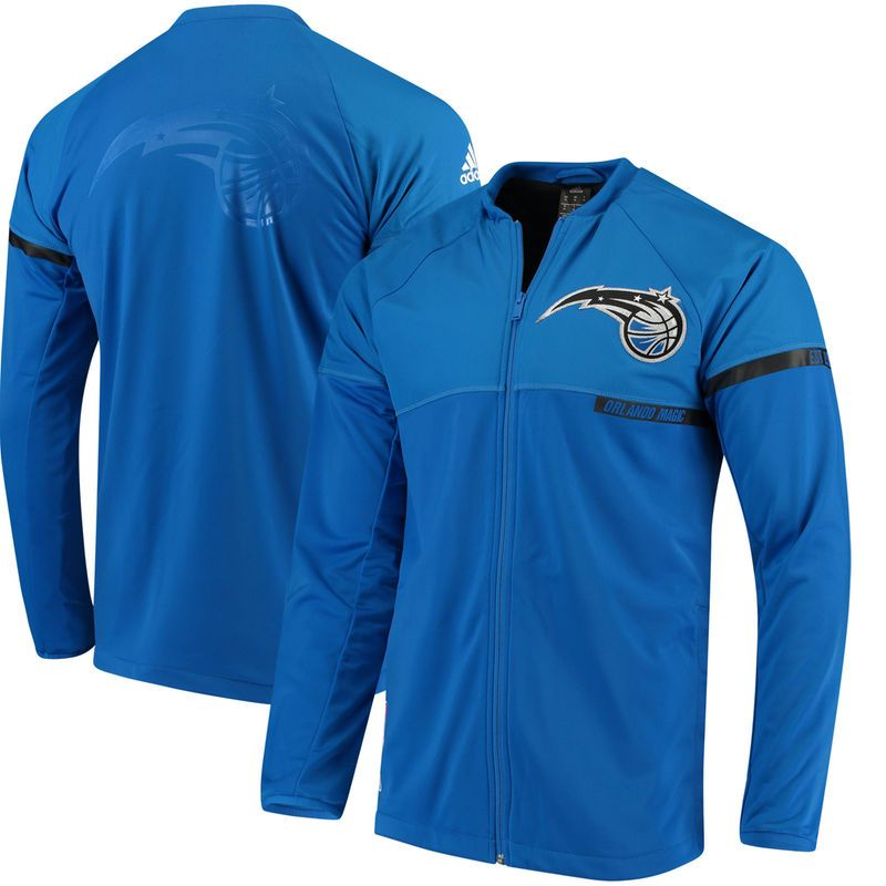 19e6d229fb3 Orlando Magic adidas 2016 On-Court Jacket - Blue