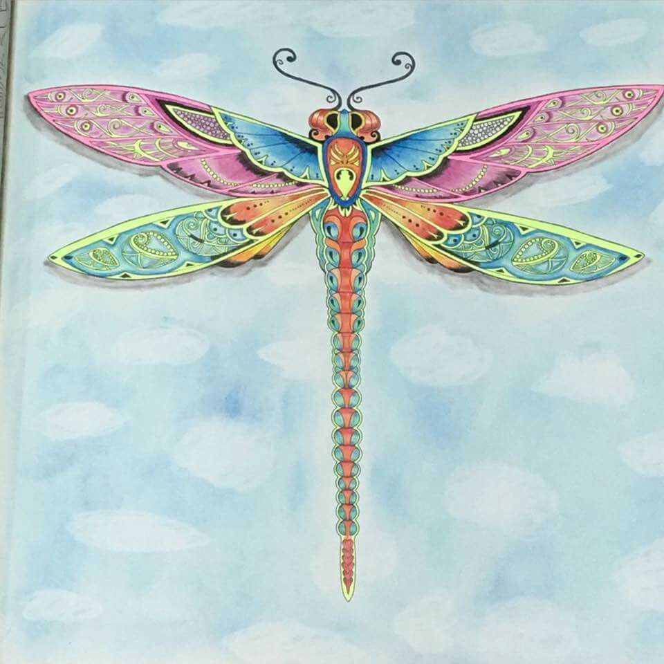 Dragonfly enchanted forest | Acbutterflydragonfly | Pinterest ...