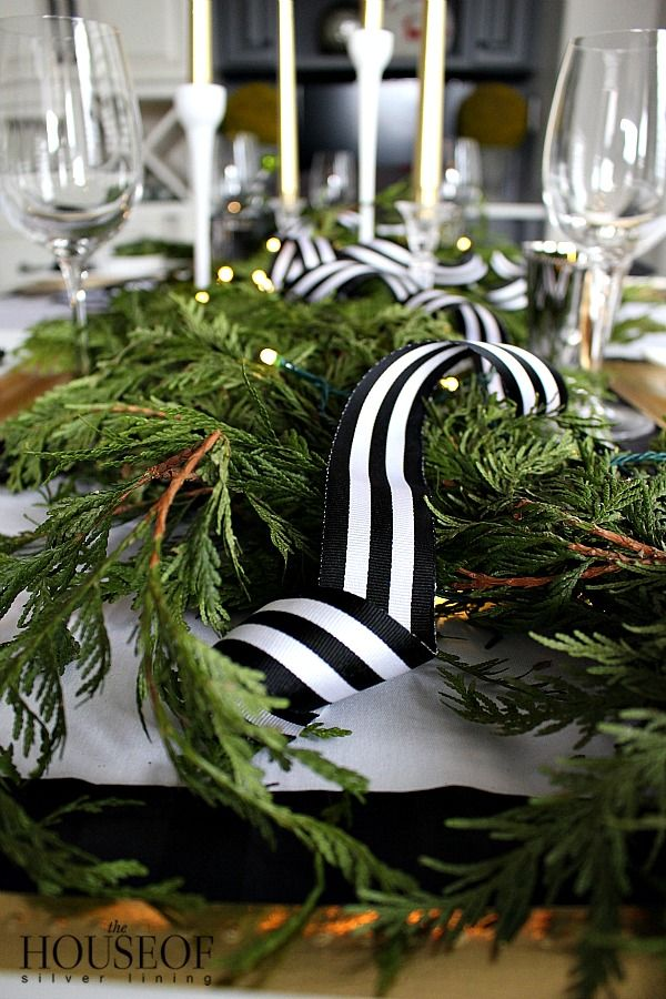 Elegant Holiday Tablescape Christmas Christmas Table Decorations