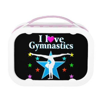 GYMNASTICS PRINCESS YUBO LUNCHBOX #Gymnastics #Gymnast #IloveGymnastics #Gymnastgifts #WomensGymnastics #personalizedgymnast #Customgymnast #Addnamegymnast