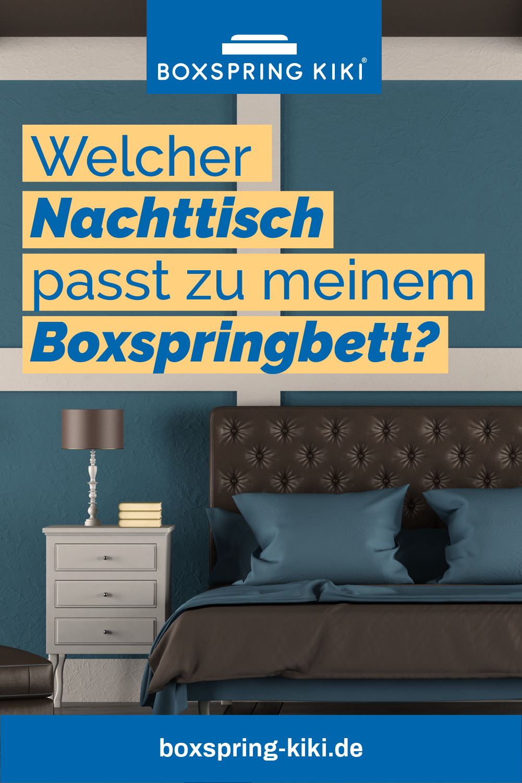 Nachttisch Fur Boxspringbetten Tipps Zum Kauf Boxspringbett